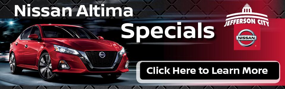 2019 Nissan Altima Specials Deals