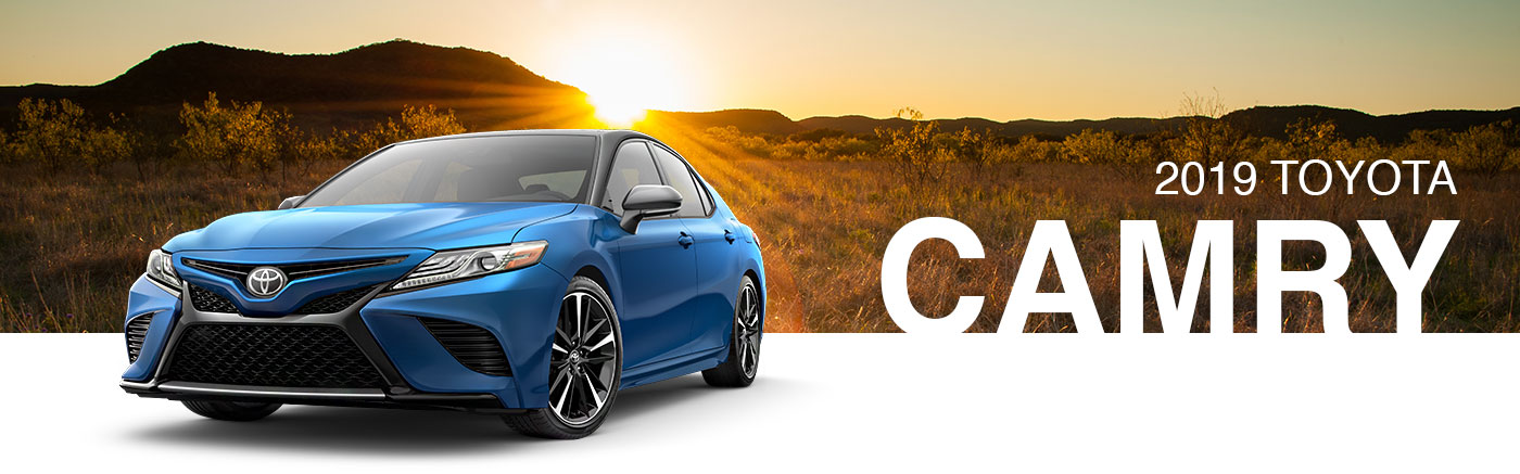 Meet The 2019 Toyota Camry Sedan Family In Nash, Texas, Near Texarkana