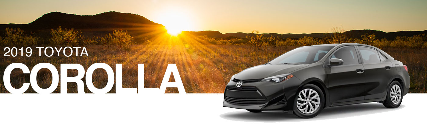 Shop The 2019 Toyota Corolla Lineup In Nash Tx Robbins