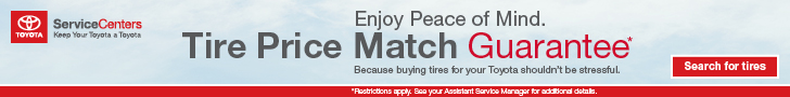 Tire Price Match Schedule Service