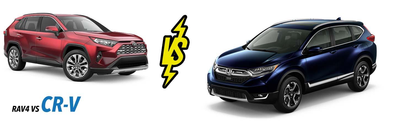 2019 Honda CR-V vs 2019 Toyota RAV4