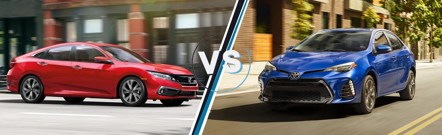Toyota Dealers In Arkansas >> Compare The Honda Civic And The Corolla In Little Rock L Mclarty Honda