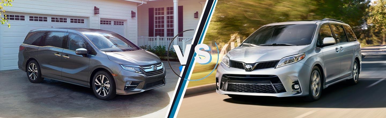 Odyssey Vs Sienna >> Compare The Minivans Odyssey Vs Sienna In Little Rock L Mclarty Honda
