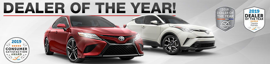 Sun Toyota Named 2018 Florida Dealership of the Year