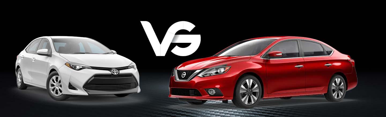 2019 Nissan Sentra vs 2019 Toyota Corolla