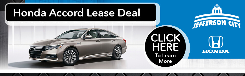 Honda Accord Lease Deal