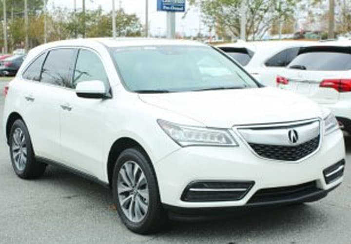 2016 Acura MDX FWD 4dr W/Tech/Entertainment