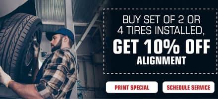 Tire & Alignment Special