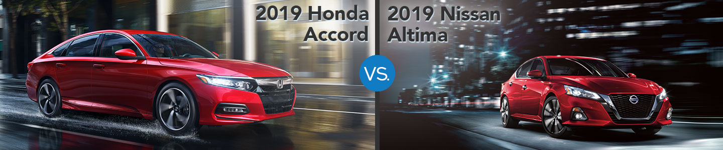 2019 Honda Accord vs. 2019 Nissan Altima in Westerville, OH