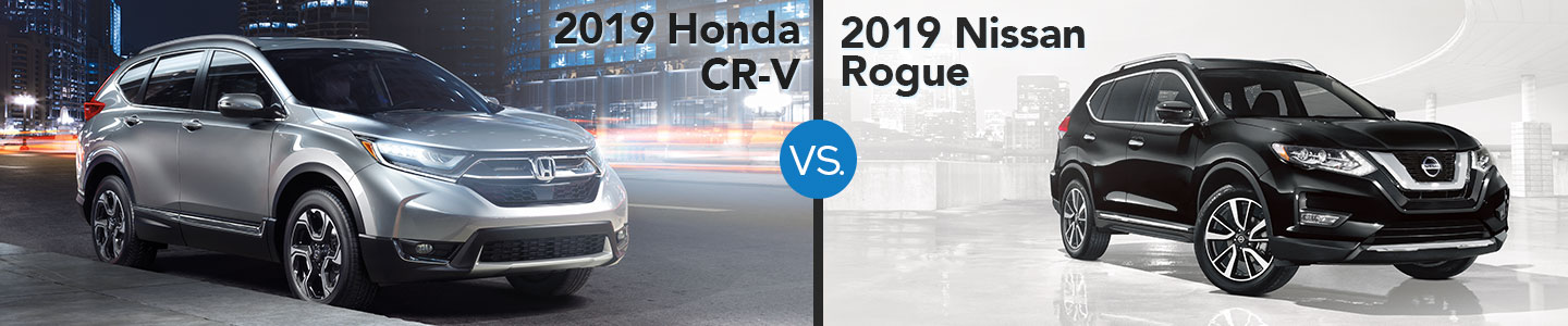 2019 Honda CR-V vs. Nissan Rogue in Westerville, OH
