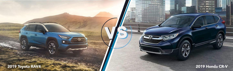 2018 Honda Pilot, CR-V And HR-V Could Get Hybrid Versions >> The Honda Cr V Vs Toyota Rav4 In Port Arthur Tx L Twin