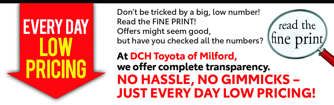 DCH Toyota of Milford: Dealership Near Worcester And
