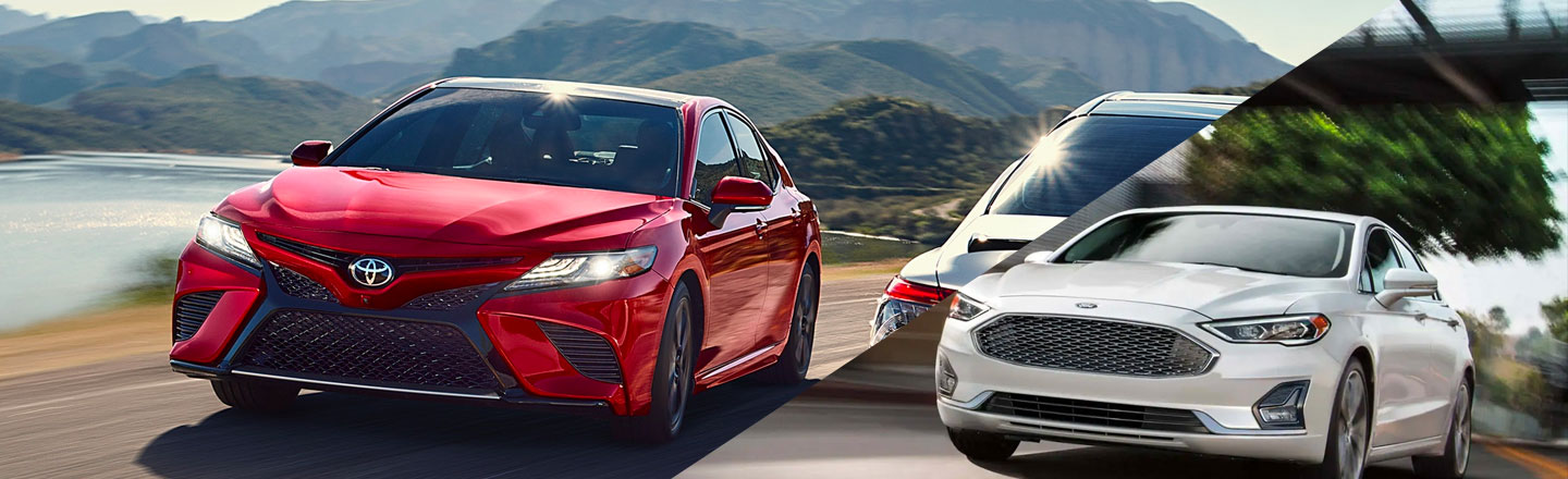 2019 Toyota Camry vs. 2019 Ford Fusion in Columbia, MO