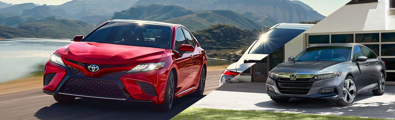 2019 Toyota Camry vs. 2019 Honda Accord in Columbia, MO