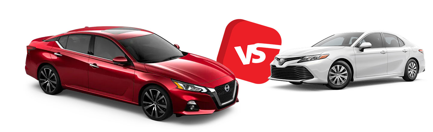 2019 Nissan Altima vs. Toyota Camry in North Little Rock, AR