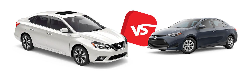 2019 Nissan Sentra vs. 2019 Toyota Corolla in North Little Rock, AR