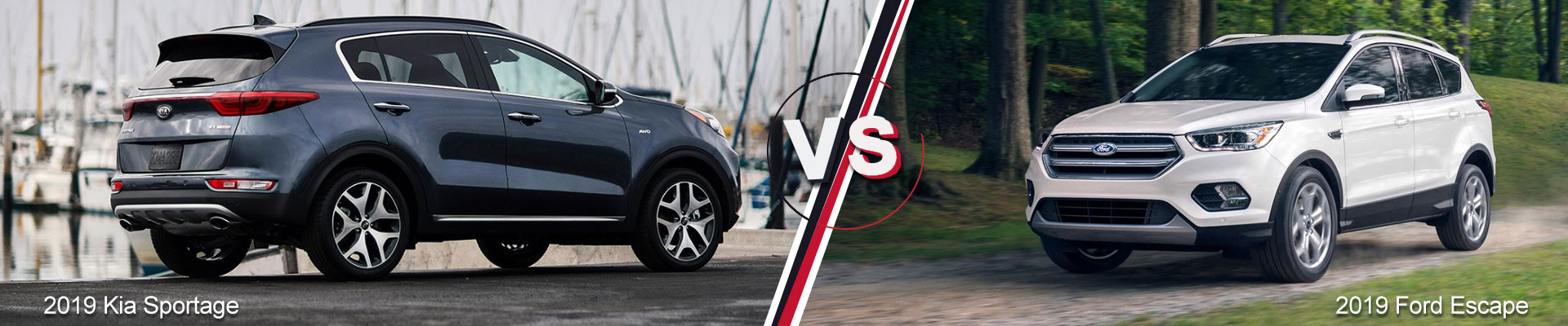 2019 Kia Sportage VS. 2019 Ford Escape Kia of Duluth