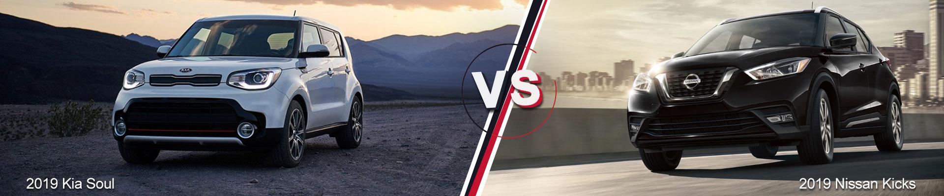 2019 Kia Soul VS. 2019 Nissan Kicks Kia of Duluth