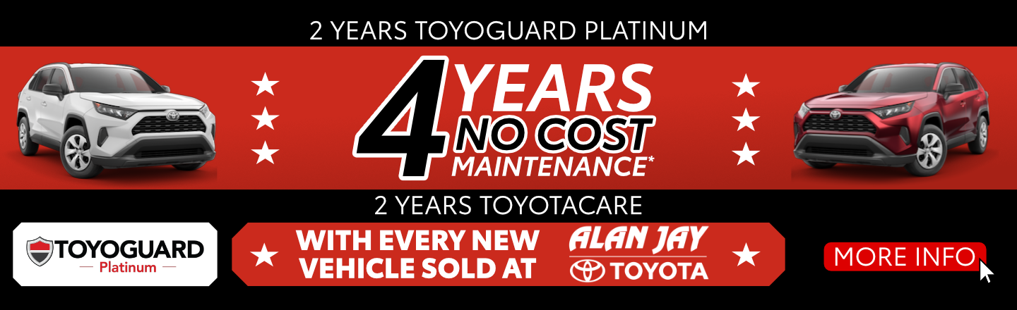 4 Year No Cost Maintenance