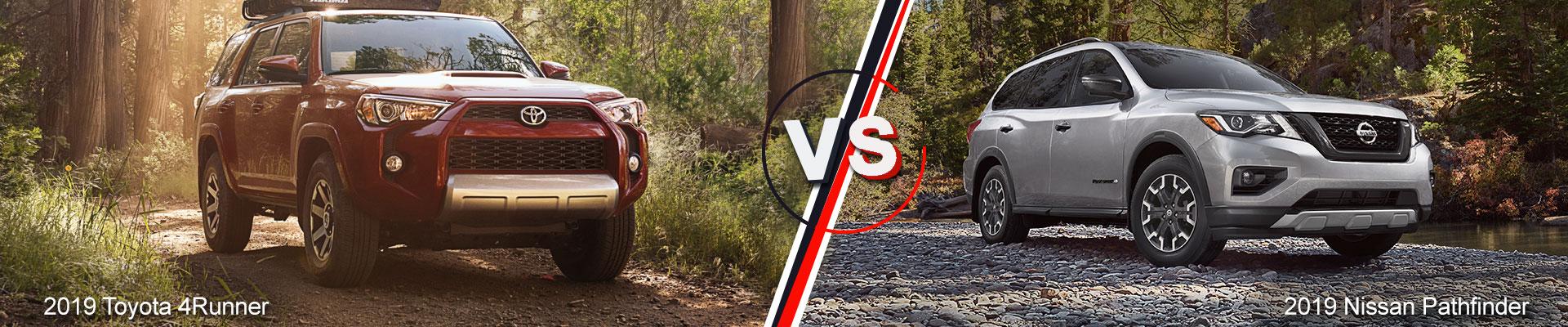 2019 Toyota 4Runner vs. 2019 Nissan Pathfinder in Everett, WA