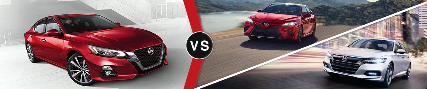 2019 Nissan Altima Vs Accord and Camry