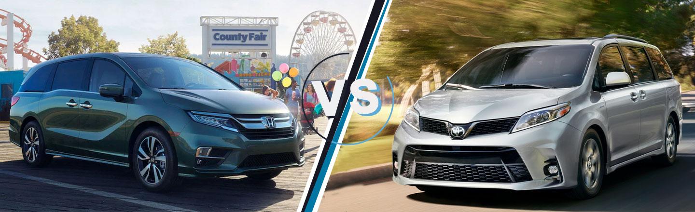 Honda Odyssey Vs Toyota Sienna >> 2019 Honda Odyssey Vs Sienna By Odessa Tx Classic Honda Of Midland