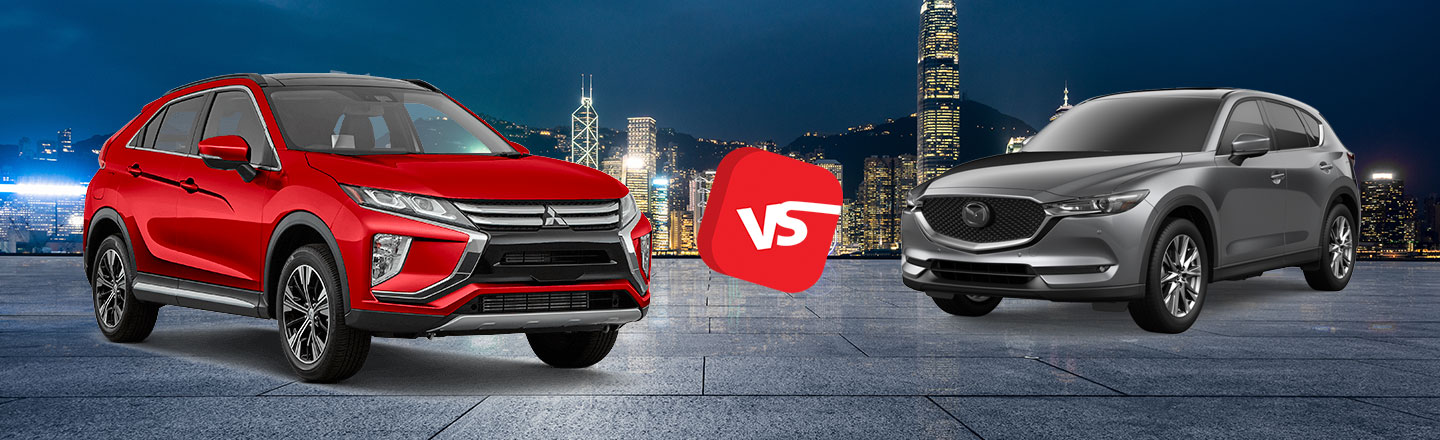 2019 Mitsubishi Eclipse Cross vs. 2019 Mazda CX-5