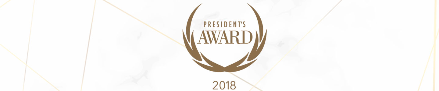 Roush Honda Presidents Award