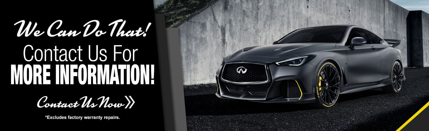 Benton Nissan of Columbia is now offering service to Infiniti Drivers!
