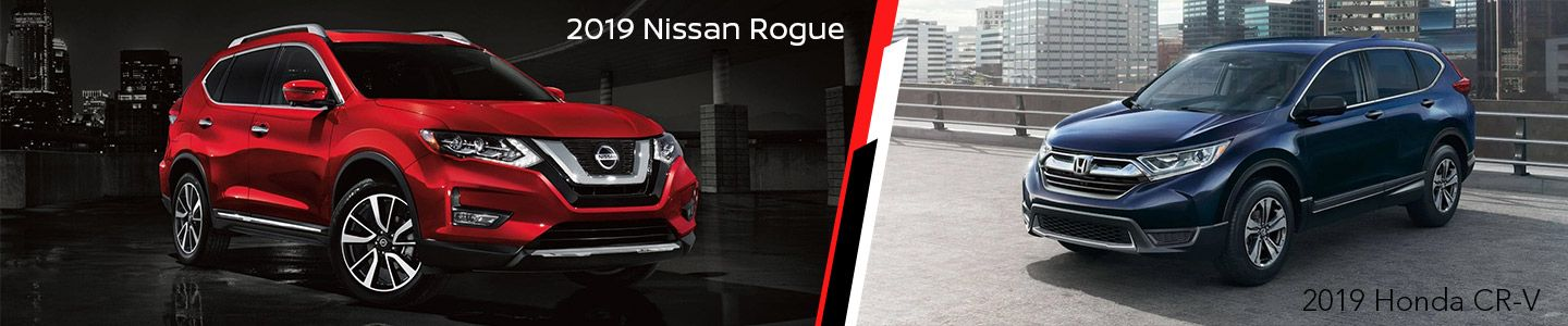 2019 Nissan Rogue Vs. 2019 Honda CR-V In Chattanooga, Tennessee