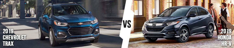 2019 Chevrolet Trax vs. 2019 Honda HR-V in Fort Worth, Texas