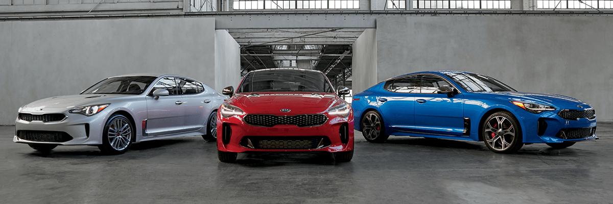 2019 Kia Stinger Line up