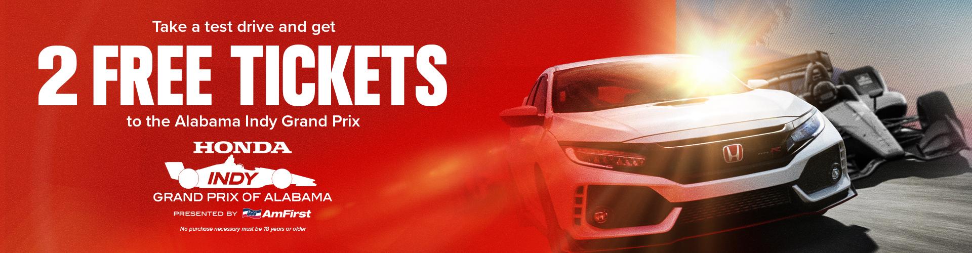 Honda Dealerships In Alabama >> Alabama Indy Grand Prix Central Alabama Honda Dealers