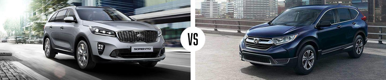 Comparing The New Sorento And Honda CR-V