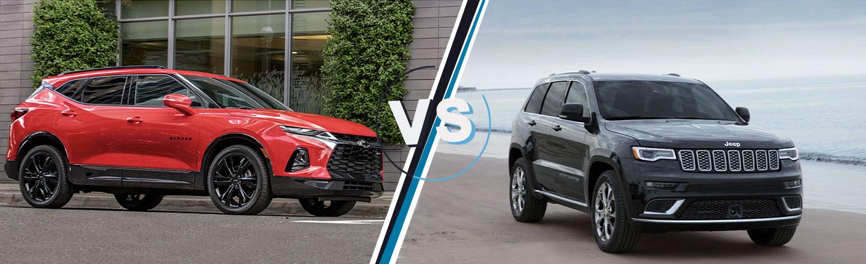 Calremore Chevrolet 2019 Chevy Blazer VS Grand Cherokee