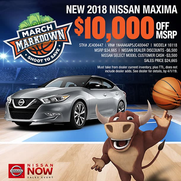 For Sale Now In Waxahachie, TX Is A 2018 Nissan Maxima