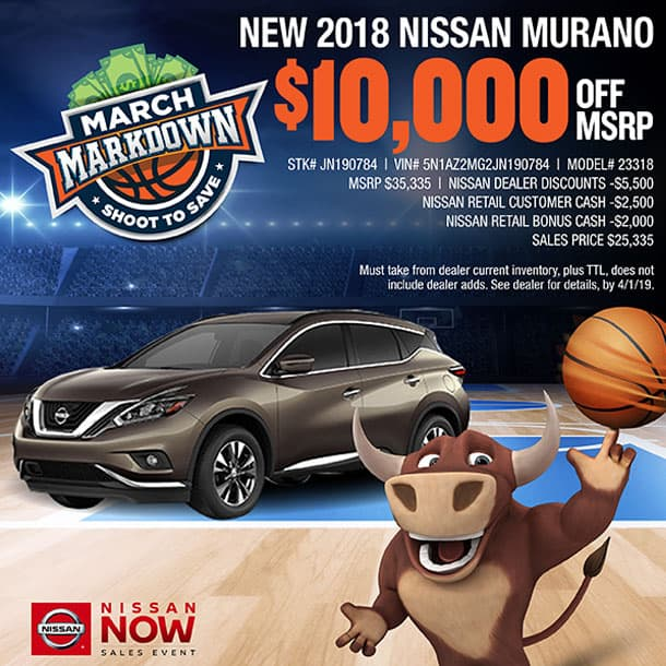 For Sale Now In Waxahachie, TX Is A 2018 Nissan Murano