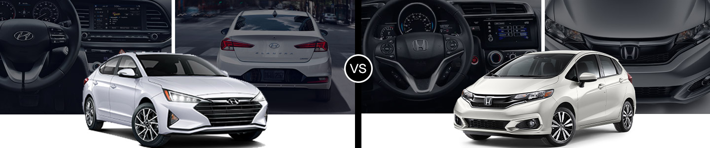 Pride Hyundai 2019 Elantra VS Fit