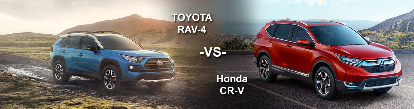 Mike Johnson Hickory Toyota | 2019 Toyota Rav4 vs Honda CR-V