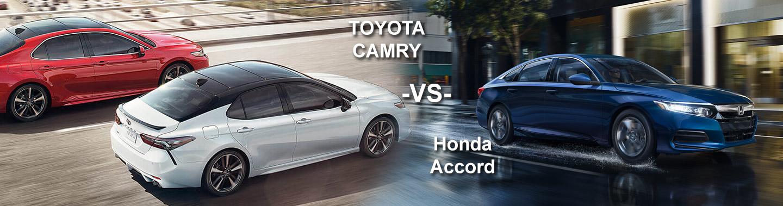 Toyota Camry vs Honda Accord | Mike Johnson Hickory Toyota