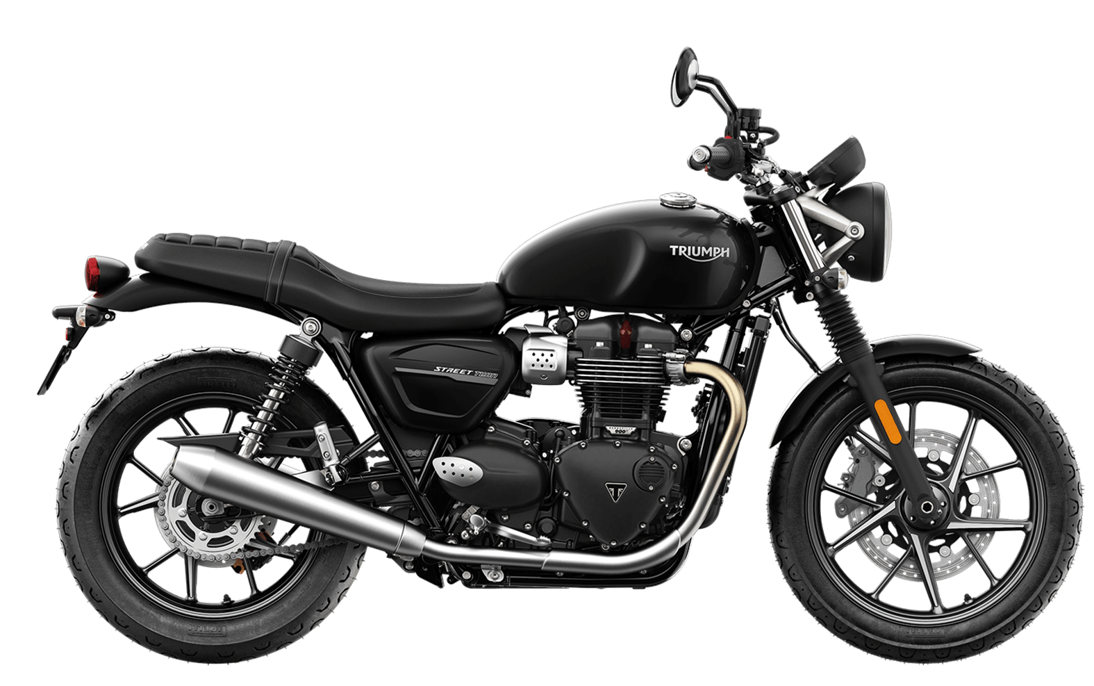 2019 Triumph Street Twin in Jet Black