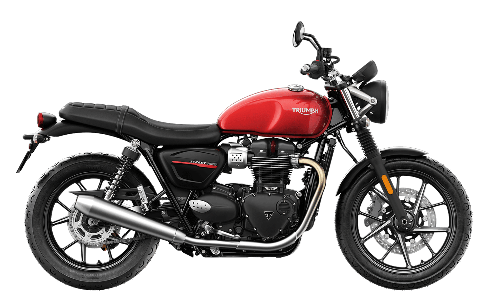2019 Triumph Street Twin in Korosi Red