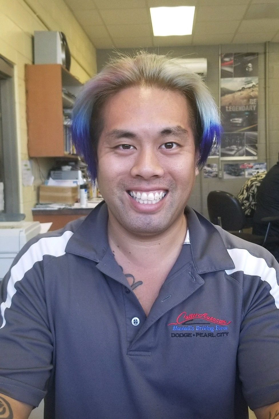 Kawika Ho Bio Image