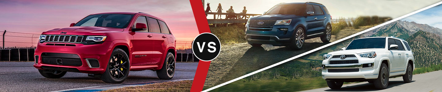 Community CDJR of Bloomington 2019 Jeep Grand Cherokee Vs the competition