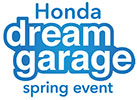 Honda Dream Garage Spring Event Logo