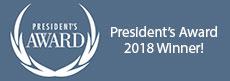 2018 President's Award logo
