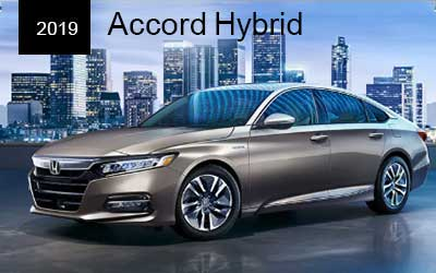 Silver 2019 Accord parked