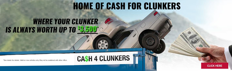Cash For Clunkers | Bellingham Nissan