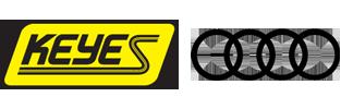 keyes audi logo
