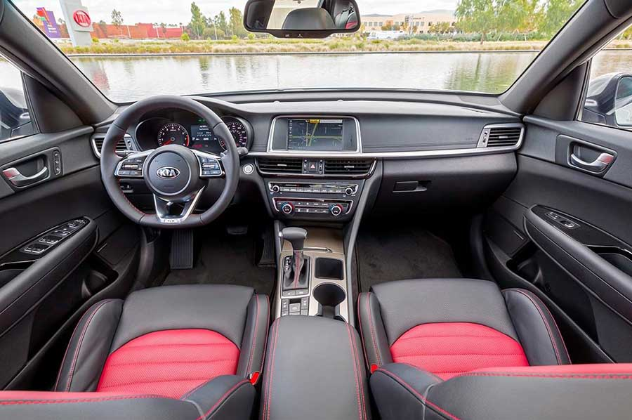 Kia Optima Interior in Des Moines, IA